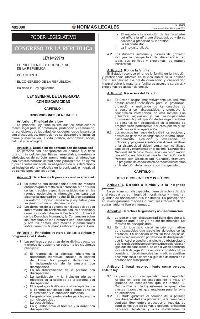 El Peruano482000                                        NORMAS LEGALES                                         Lima, lunes...