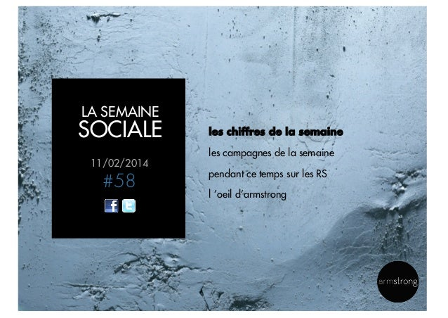 La semaine sociale by armstrong - 11022014 Slide 2