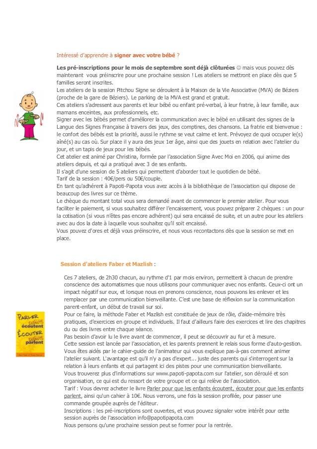 Newsletter Août 2014 - Papoti Papota Slide 2