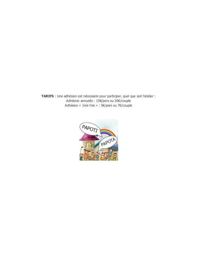Newsletter Août 2014 - Papoti Papota Slide 3