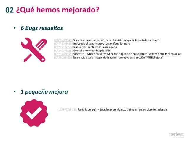 • 6 Bugs resueltos LCAPPSUPP-495 Sin wifi se bajan los cursos, pero al abrirlos se queda la pantalla en blanco LCAPPSUPP-5...
