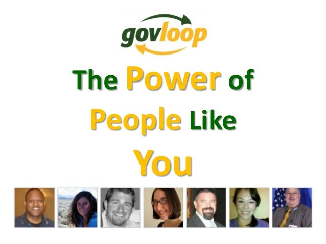 The Power of People Like You