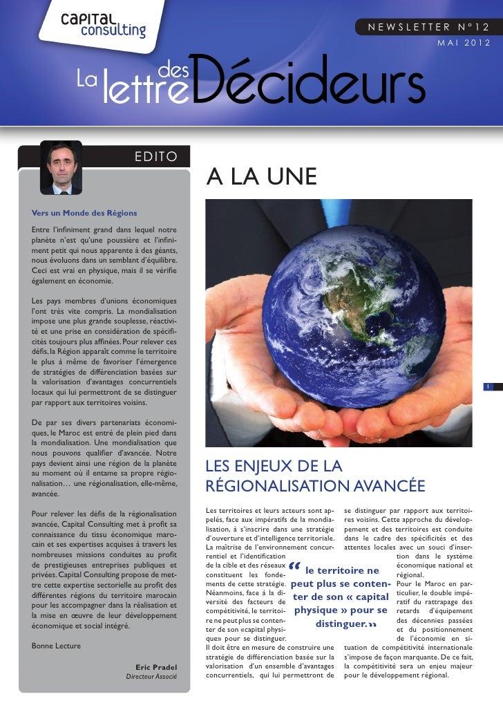 Newsletter n°12                                                                                                           ...