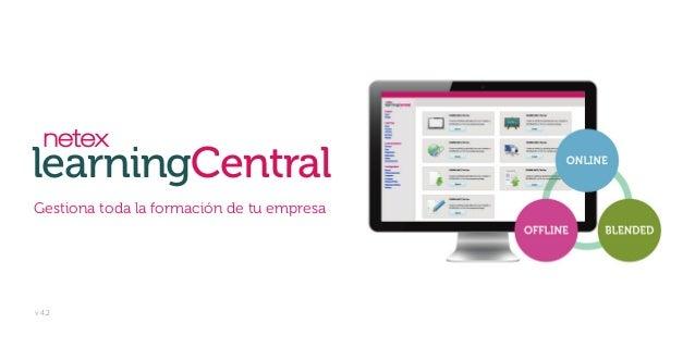 learningCentral Gestiona toda la formación de tu empresa  v 4.2