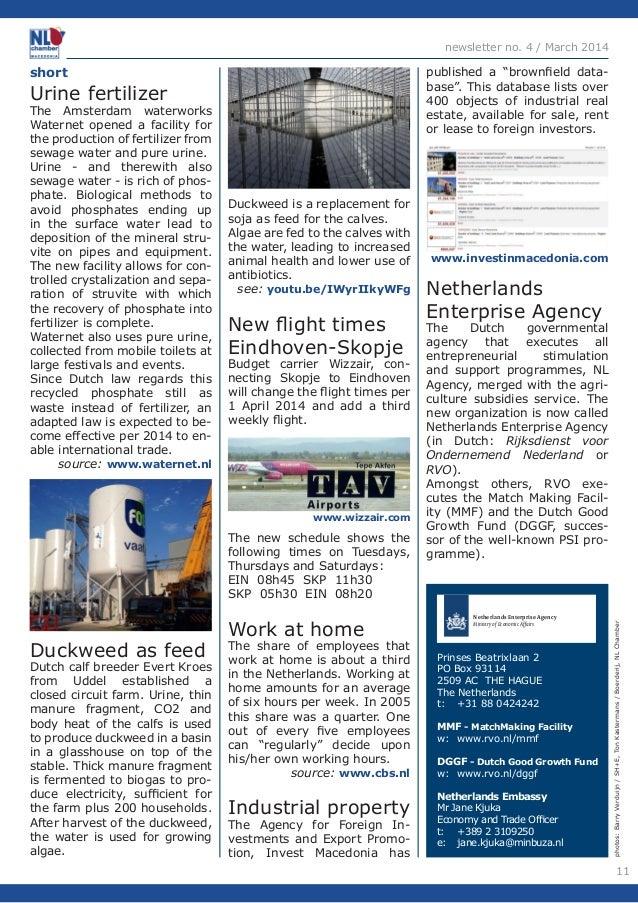 11  newsletter no. 4 / March 2014  photos: Barry Verduijn / SH+E, Ton Kastermans / Boerderij, NL Chamber  short  Urine fer...