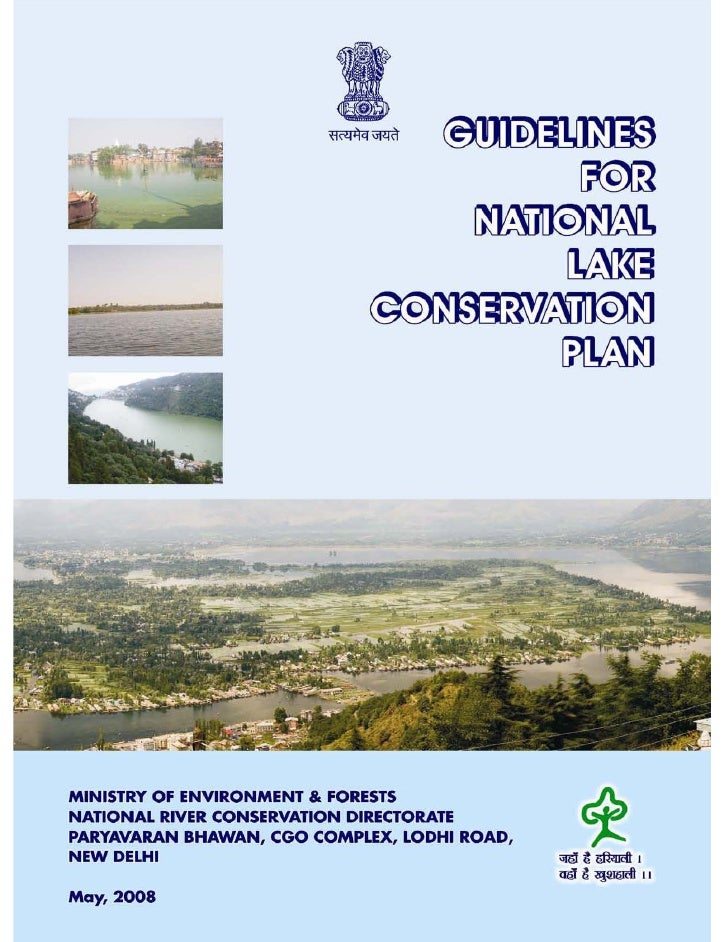lR;eso t;rs                GUIDELINES                       FOR NATIONAL      CONSERV NATIONAL LAKE CONSERVATION PLAN     ...
