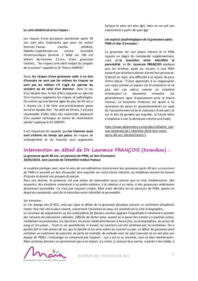 Nl journee de l infertilite 2014 - Anomalie chromosomique fausse couche ...