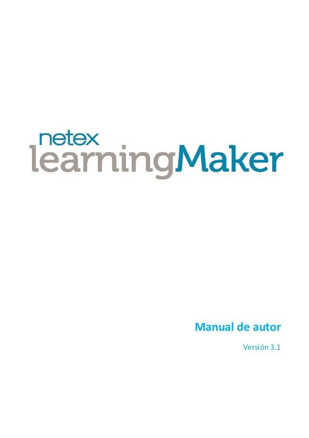 Manual de autor Versión 3.1