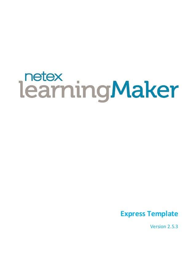 Express Template Version 2.5.3