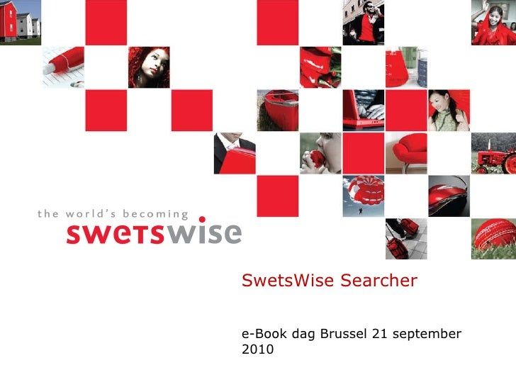 SwetsWise Searcher e-Book dag Brussel 21 september 2010