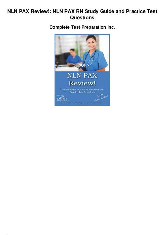 Study Guide for NLN RN Pharmacology Exam