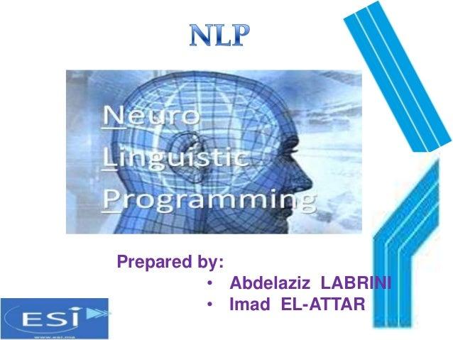 Prepared by: • Abdelaziz LABRINI • Imad EL-ATTAR