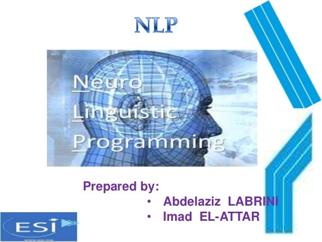 Prepared by:          • Abdelaziz LABRINI          • Imad EL-ATTAR