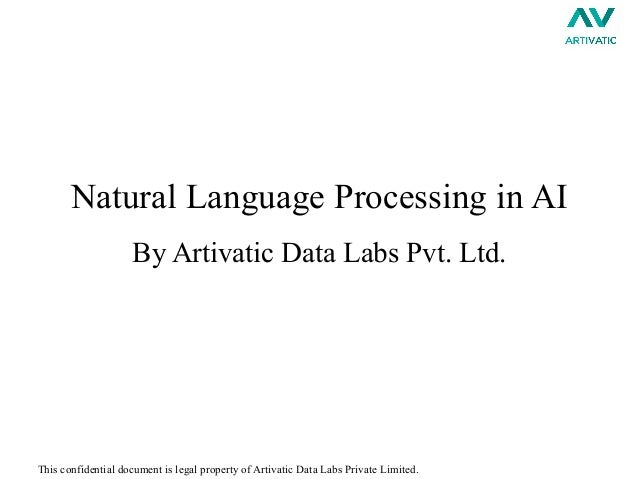 Examples of natural language processing systems in artificial intelligence