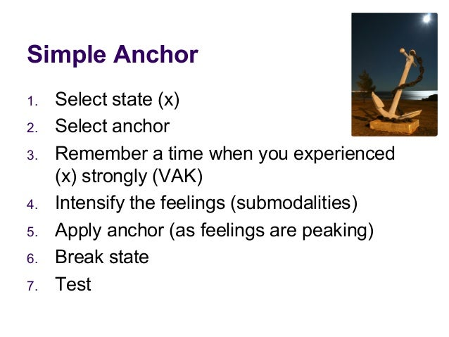NLP - Simple Anchor