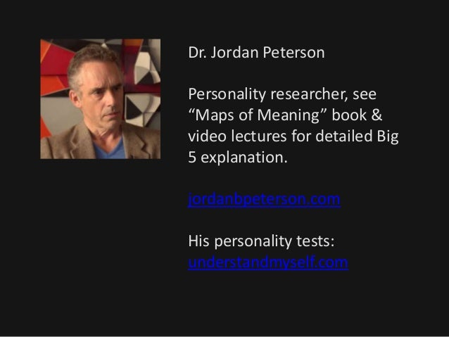 NLP and personality analysis