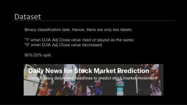 Stock Prediction Using NLP and Deep Learning