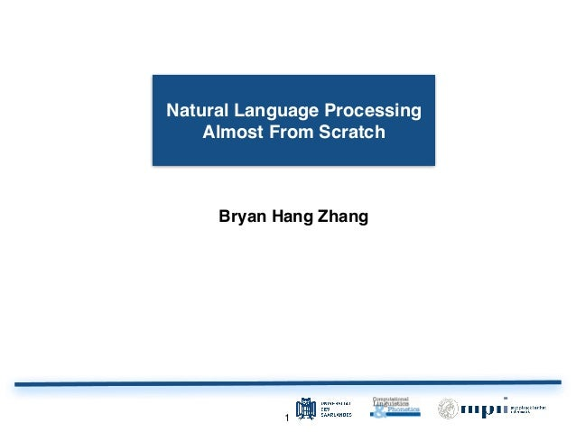 11 Bryan Hang Zhang Natural Language Processing Almost From Scratch