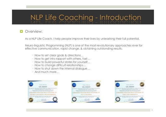 American Union Of Nlp Reviews - NLP Practicioner