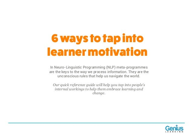 6 ways to tap into learner motivation
