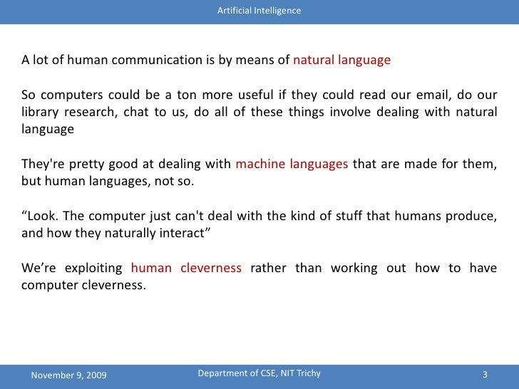 are artificial languages more useful than Artificial intelligence (ai) is actually being used more than you might think here's what you need to know about the current state of ai and where it's going.