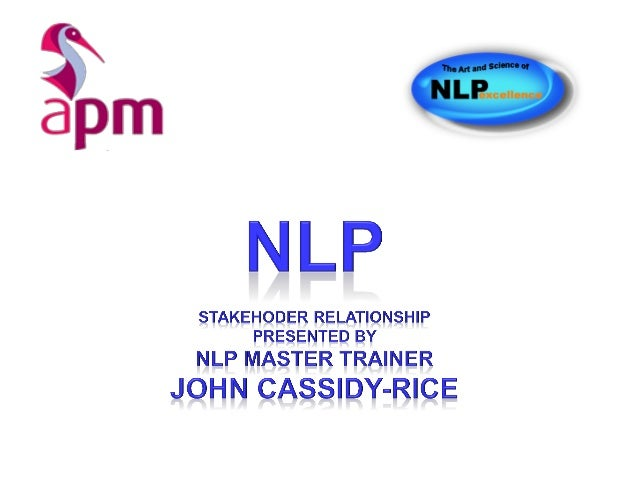 I am one with mummy so take the NLP Practitioner with John