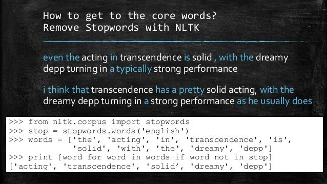 KiwiPyCon 2014 talk - Understanding human language with Python