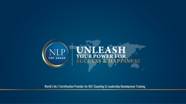 COMPANY PROFILE NLP Top Coach is an international Training & Coaching provider in South-East Asia & Thailand, with more th...
