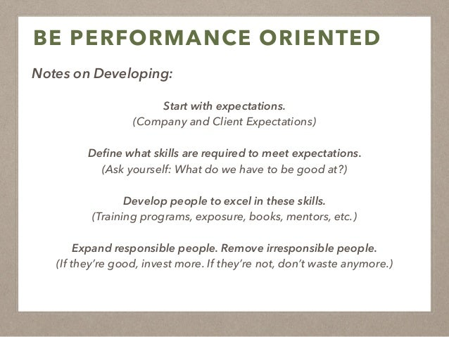 Purpose-Driven (Meaning) ! Performance-Oriented (Results) ! Principles-Led (Values)