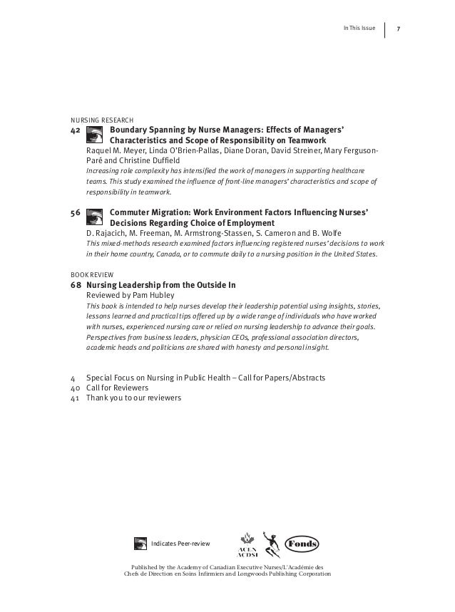 nursing leadership case study The case study method of teaching applied to college a nursing student, and her presents some of the patient management issues that health care.
