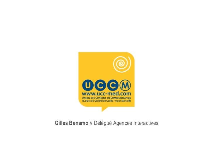 Gilles Benamo  // Délégué Agences Interactives