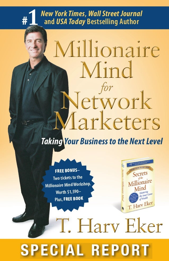 1#    New York Times, Wall Street Journal     and USA Today Bestselling Author         Millionaire           Mind         ...