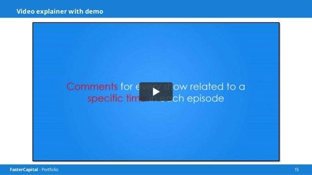 FasterCapital - Portfolio 16 Tvlize Dashbaord Screencast