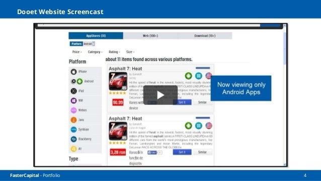 FasterCapital - Portfolio 5 Dooet Social Screencast