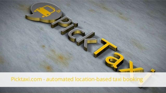 FasterCapital - Portfolio 81 PickTaxi Android App Screencast