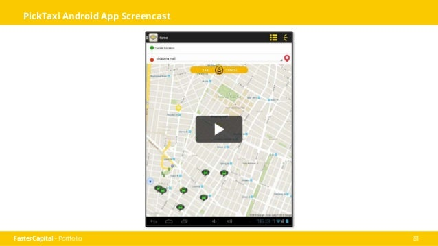 FasterCapital - Portfolio 82 Our Products You have a fleet of taxis and you want to get things organized! We have the solu...