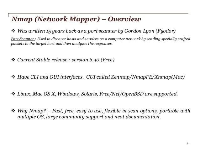 Nmap scripting engine
