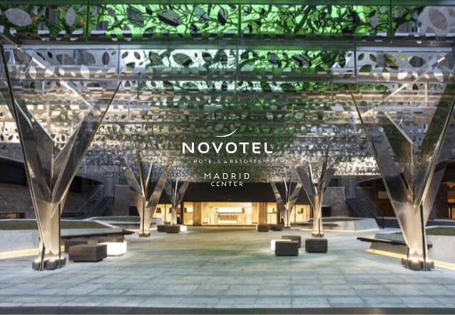 Novotel Madrid Center - MICE Presentation 2018
