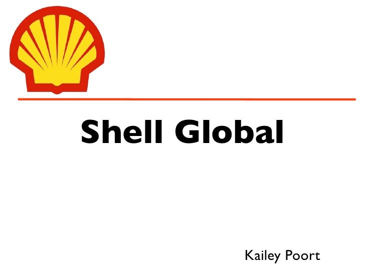 Shell Global            Kailey Poort