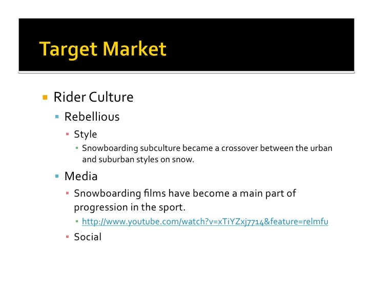 Burton Snowboards Digital Marketing Presentation (PDF)