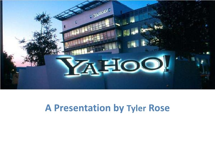 A Presentation by Tyler Rose<br />