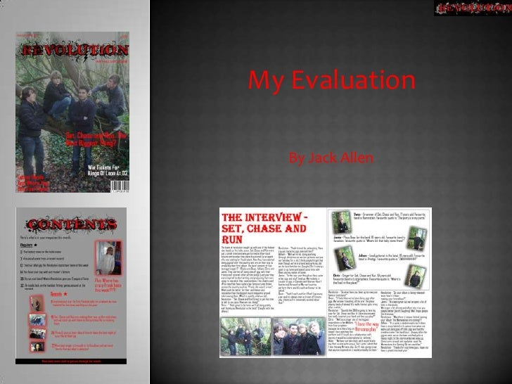 My Evaluation<br />By Jack Allen<br />