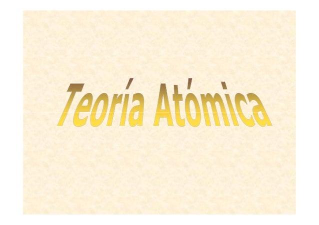 Desarrollo de la actual teoría atómica Niels Bohr propuso un modelo atómico basado en tres postulados: En un átomo el elec...