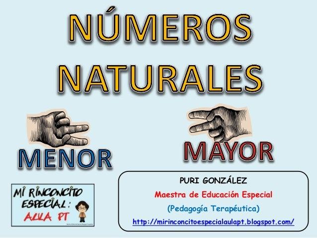 PURI GONZÁLEZ      Maestra de Educación Especial          (Pedagogía Terapéutica)http://mirinconcitoespecialaulapt.blogspo...