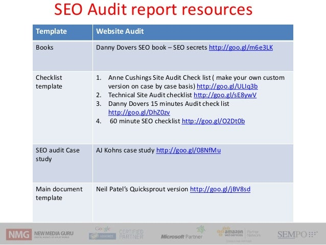seo reporting templates