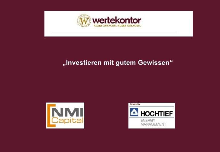 Document number Energieerzeugung aus Holz Investieren mit gutem Gewissen