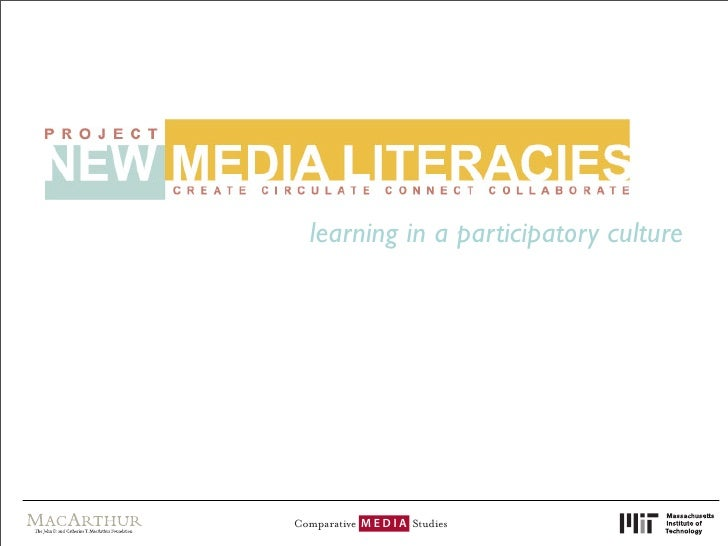 learning in a participatory culture