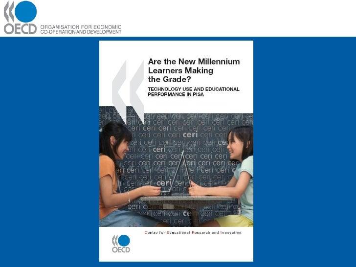 Uso de la tecnología y resultados escolares en PISA 2 Slide 2