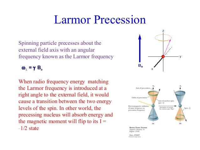 Larmor Precession