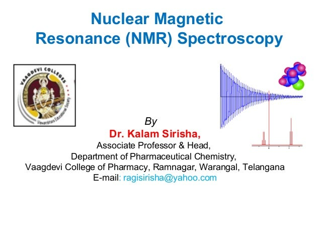 Nmr Spectroscopy And Some Problems Based On It